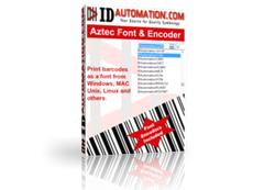 Aztec Barcode Font & Encoder授权购买