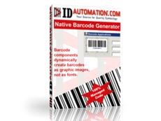 Access Native Barcode Generator授权购买
