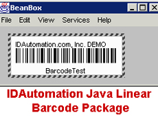 Java Barcode Package