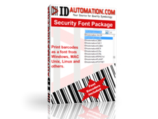 Security Fonts