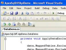 ApexSQL Diff API授权购买