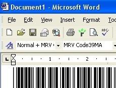 Code39 Fontware