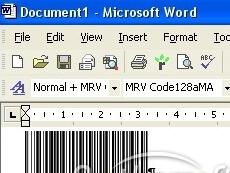 Code128 Fontware