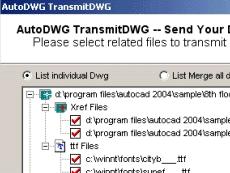 AutoDWG eTransmit
