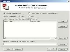 DWG to DWF Converter