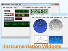 Instrumentation Widgets授权购买