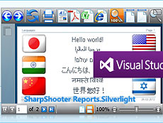 SharpShooter Reports.Silverlight