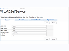 SharePoint AD User Profile Service
