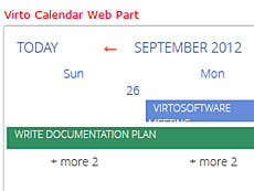 SharePoint Calendar for MS Exchange