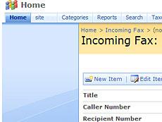 Virto Incoming Fax Service