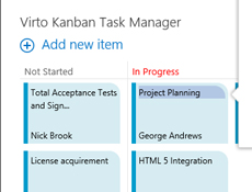 Virto Kanban Board Web Part授权购买