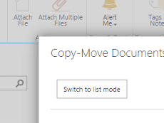 SharePoint Bulk File Copy and Move Web Part