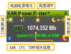 KAR Power Faster