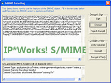 IP*Works! S/MIME