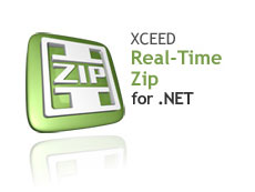 Xceed Real-Time Zip for .NET