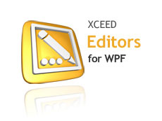 Xceed Editors for WPF授权购买