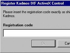 IXF ActiveX Control授权购买